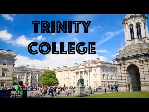 TRINITY COLLEGE - Exploring - Dublin, Ireland - VLOG #27