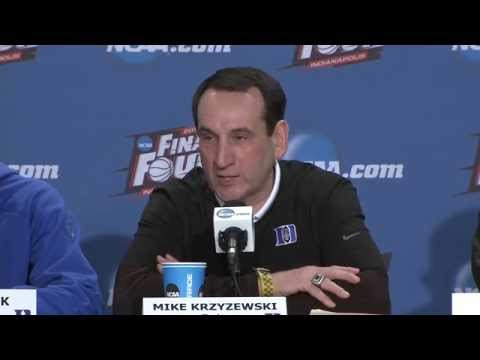 Duke Final Four News Conference