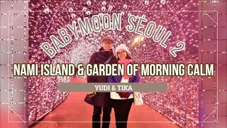 Babymoon Seoul Part 2 : Travelling to Nami Island and Garden of Morning Calm