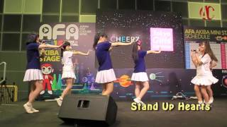 Stand Up Hearts AFA15 Day 1 performance Digest Stand Up Hearts シン...