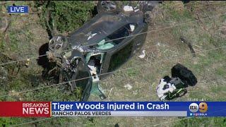 Tiger Woods Injured In Rancho Palos Verdes Crash