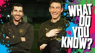 CAN YOU NAME ARSENAL'S TOP GOALSCORERS? | Mkhitaryan v Koscielny | What do you know? | Quiz