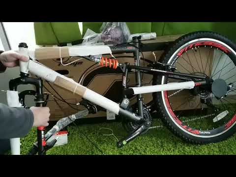 Unboxing Assembly Mens Avigo Slyther 26 Inch Mountain Bike Bought From Toys