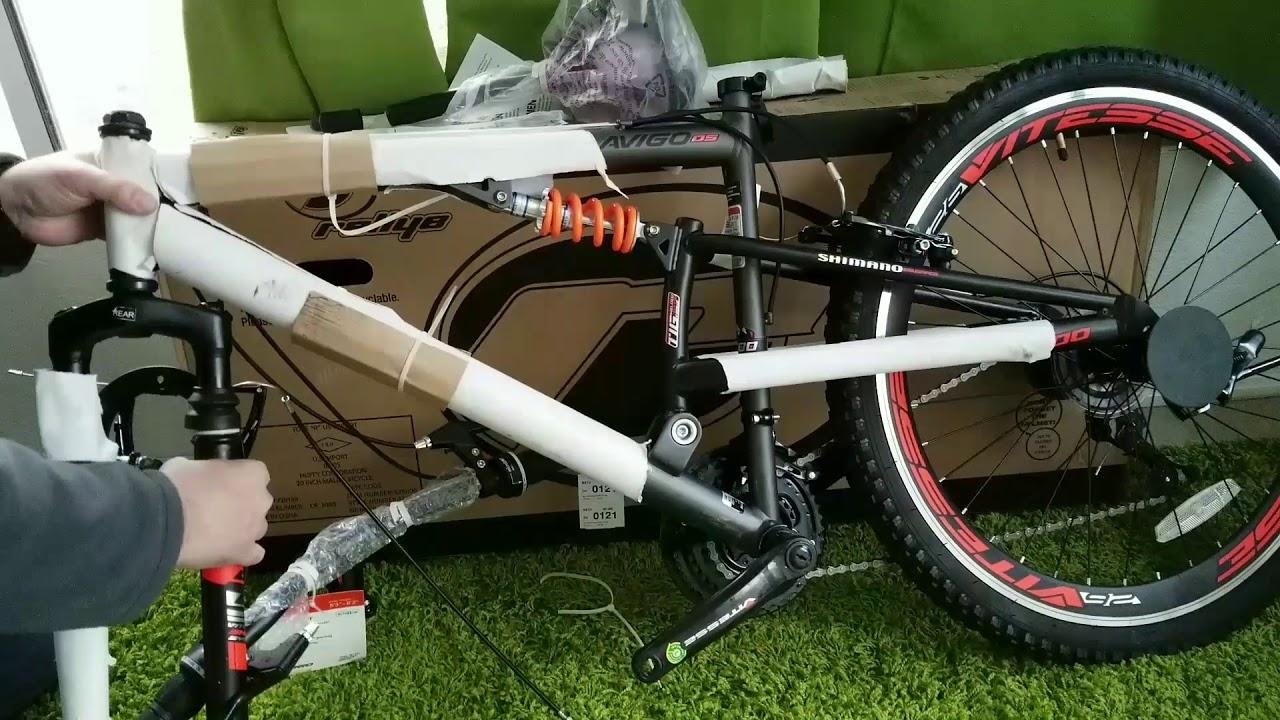 Unboxing Assembly Mens Avigo Slyther 26 Inch Mountain Bike Bought