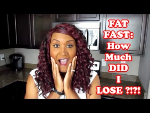 FAT FAST | MY RESULTS AFTER 3 DAYS | KETOGENIC DIET