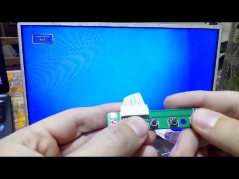 видео: Монитор из матрицы ноутбука