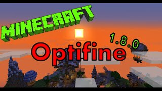 Optifine für Minecraft 1.8.0 installieren! [Tutorial] [German] [HD]