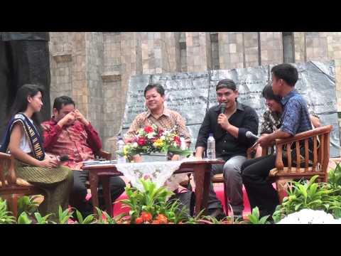 FADLI PADI PADA TALKSHOW MANFAAT MEMBACA DI HARI ANAK JAKARTA MEMBACA 2012