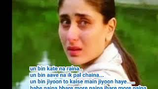 Ra.One#Un bin Kate Na raina#Bahe Naina#Hindi Watsapp Status.