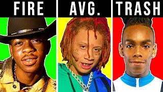 RANKING RAPPERS TRASH TO FIRE #2 (LIL NAS X, TRIPPIE REDD, YNW MELLY)