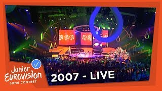 Recap of all the songs that participated at the 2007 Junior Eurovision Song Contest