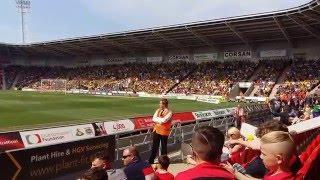 Burton Albion fans get promotion at Doncaster Rovers