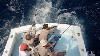 Рибалка в океані на макрель. Тихоокеанське узбережжя Коста-Ріки