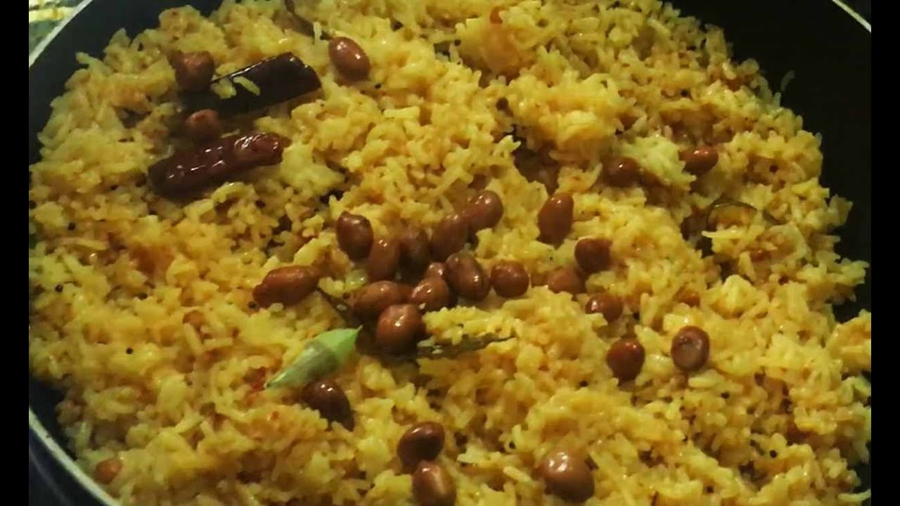 Tamarind Rice recipe - simple easy tamarind rice- how to ...