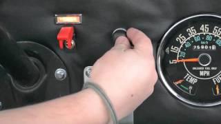 1973 Jeep keyless ignition