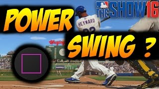 MLB The Show 16 Tips: When to Power Swing?!?