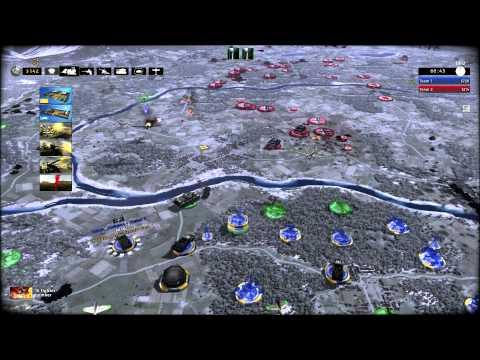 R.U.S.E Gameplay 3vs3 Ai Hard