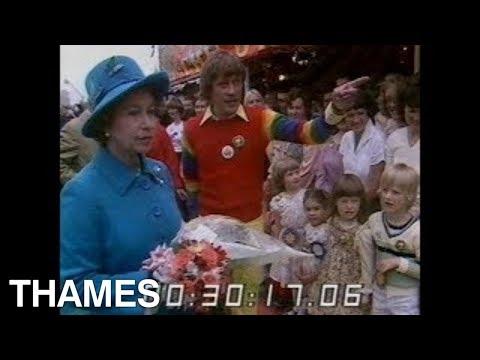 Geoffrey Hayes | Queen Elizabeth | Rainbow | Children's Party | 1979