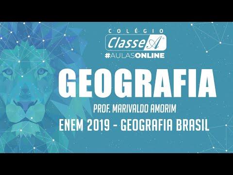 RESOLUÇÃO DO ENEM 2019 - Geografia