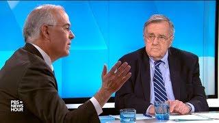 Shields and Brooks on Trump declaration, Bernie Sanders' 2020 bid