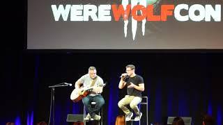 Michael Johnston (Corey from Teen Wolf) singing Drift Away - Werewolfcon 2017