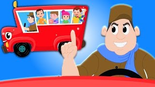 Rodas no ônibus | canção pré-escolar | Wheels On The Bus | Nursery Song | Kids Rhyme Collection