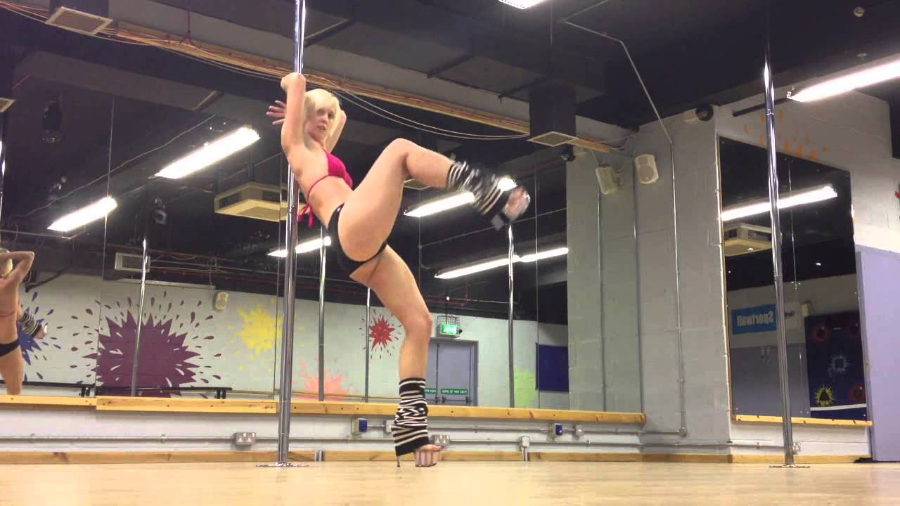f397b28f8 Pole Dancing in Heels Workshop Freestyle - YouTube