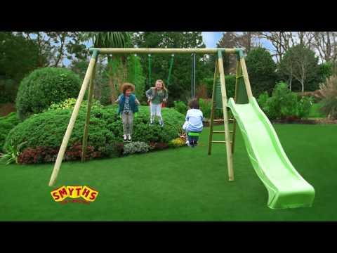 Smyths Toys - Soulet Fargo Wooden Play Centre