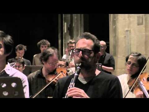 """L'ONCEIM interprète """"Gruidés"""" de Stephen O'Malley à Saint-Merry"""