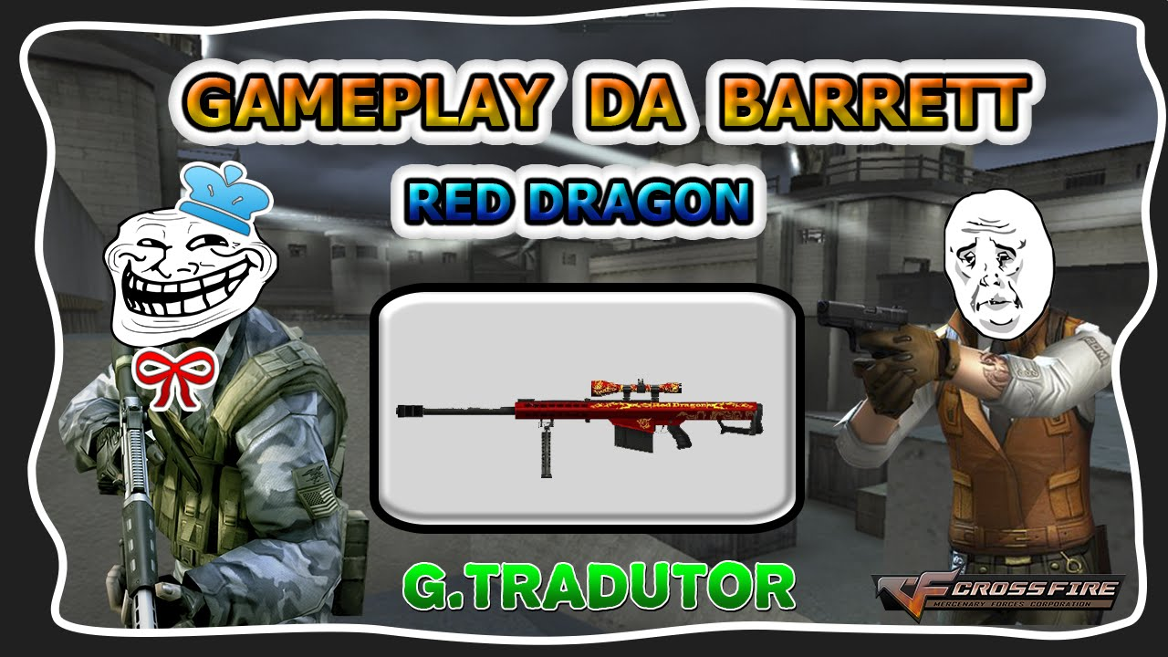 cf gameplay da barrett m82a1 red dragon g tradutor youtube