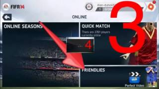How to play fifa14 online with Friend