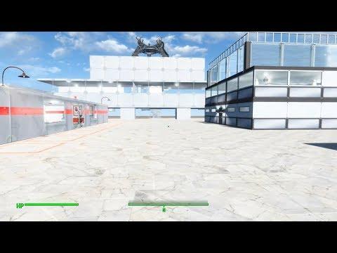 Fallout 4 Settlement Build-Institute Campus