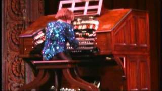 Rosa Rio at the Tampa Theatre Wurlitzer Organ
