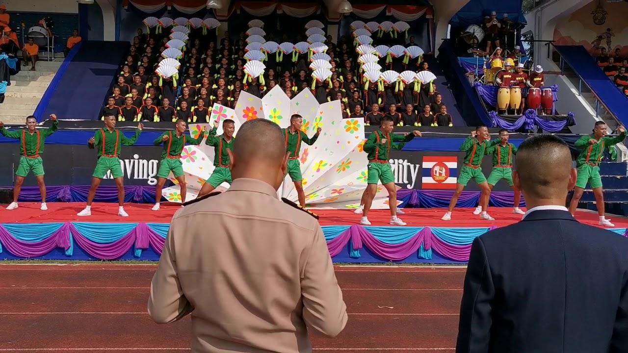 โชว์สะท้านโลก กองเชียร์ราชนาวี ปิดฉากสัปดาห์กีฬานาวี ประจำปี 2562