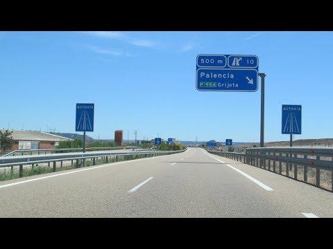 Spain: A-65 around Palencia