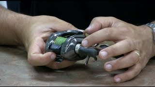 How to Adjust a baitcasting fishing reel/ Cast Farther with less Backlashes bait caster