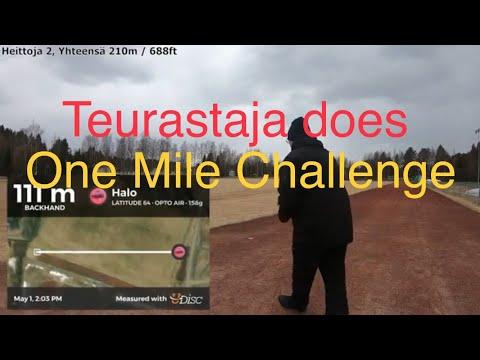Teurastaja Does One Mile Challenge [FIN]