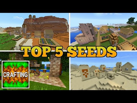 Top 5 Seeds In Crafting And Building | Best Seeds In Crafting And Building