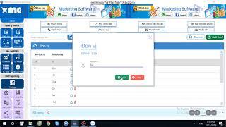 ĐƠN VỊ  - Hướng dẫn sử dụng phần mềm quản lý bán hàng MEPO CMS - BÀI 5