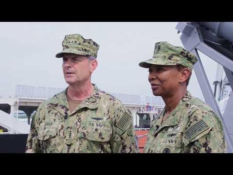 Vice Chief of Naval Operations visits USS Coronado