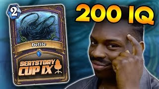 My 200 IQ Defile From Seatstory Cup!
