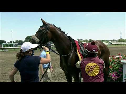 video thumbnail for MONMOUTH PARK 07-25-20 RACE 3