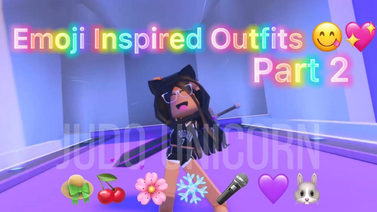 ✨Emoji Inspired Roblox Outfits Part 2✨ ~ Roblox Trend 2021 || Judo Unicorn