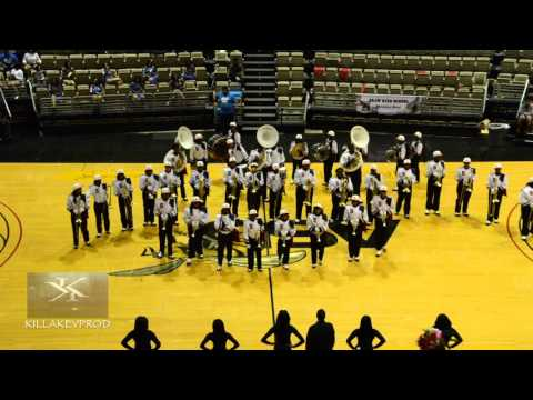 Shaw High School Marching Band - Alabama State BOTB - 2016