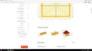 Расчет четырехскатной шатровой  крыши - онлайн калькулятор