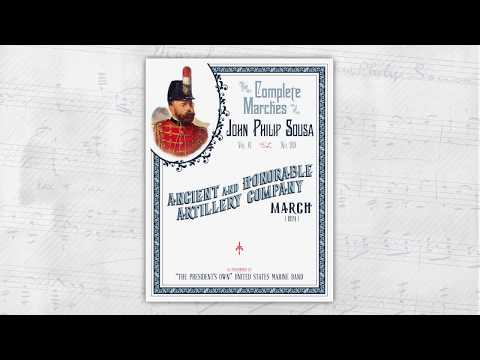 "SOUSA ""Ancient and Honorable Artillery Company"" (1924) -"