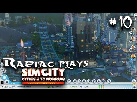 Simcity 5 Cities of Tomorrow, Part 10 Bailing Out Thunder Ridge