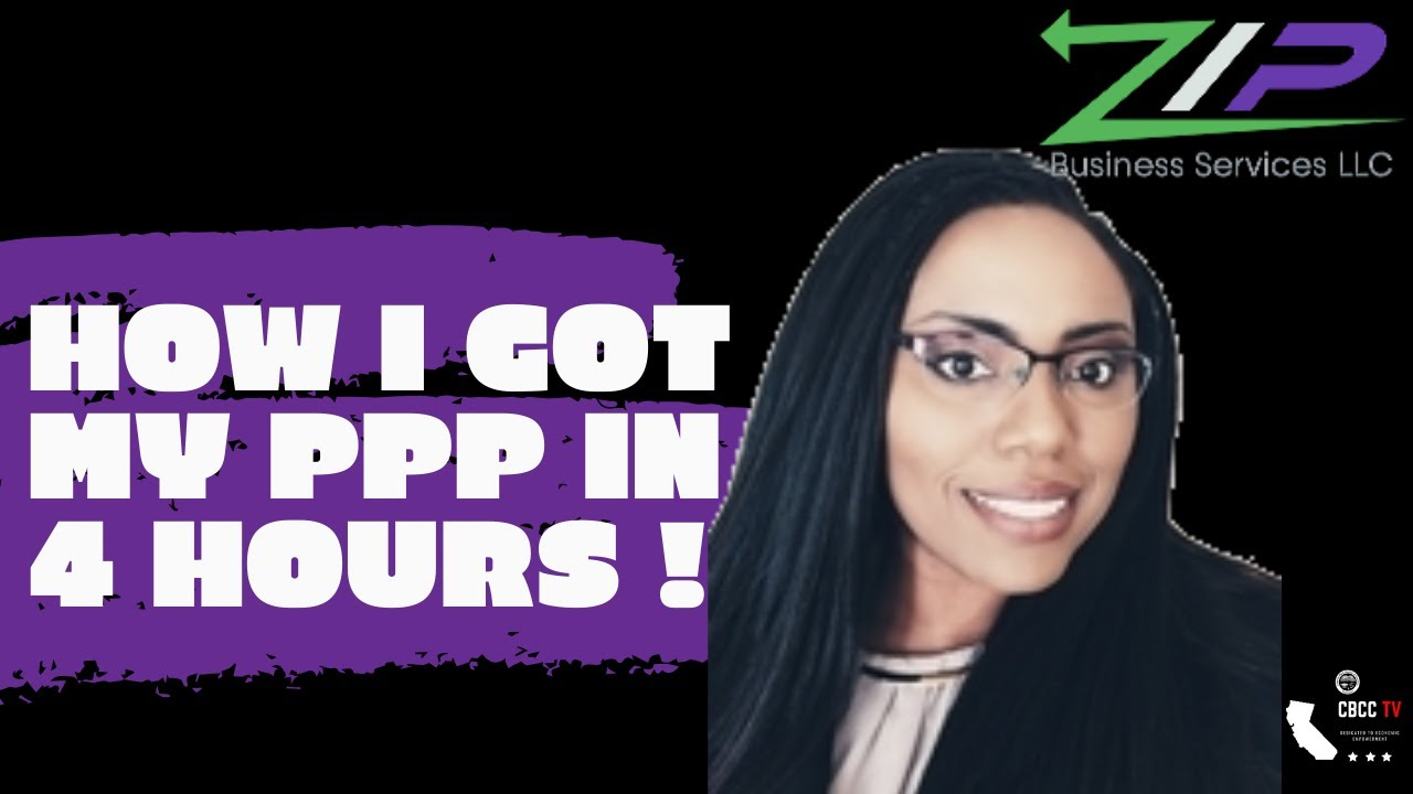 How I got My PPP in 4 Hours!   Idara Phillips, ZIP Business Services - CBCC TV