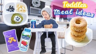 WHAT MY TODDLER EATS IN A DAY // TODDLER MEAL IDEAS 2019