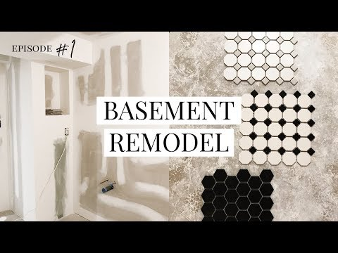 FIRST LOOK & PLAN • Our DIY Basement Remodel Project